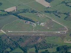 Vue de l'aérodrome