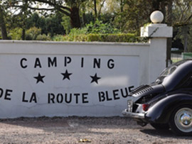 La Route Bleue Camp Site