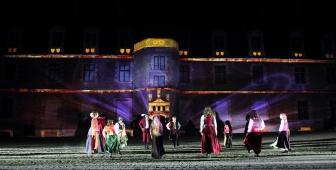 Son et Lumières au Château, en juillet
